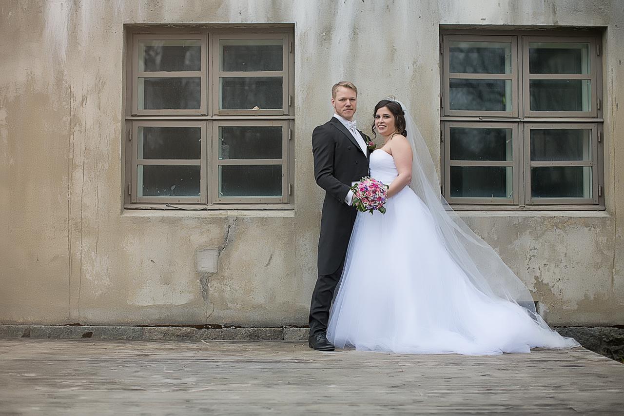 Brudepar bilde, trondheim