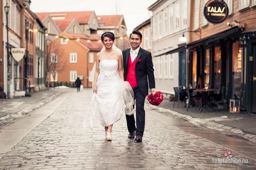 brudepar i baklandet trondheim