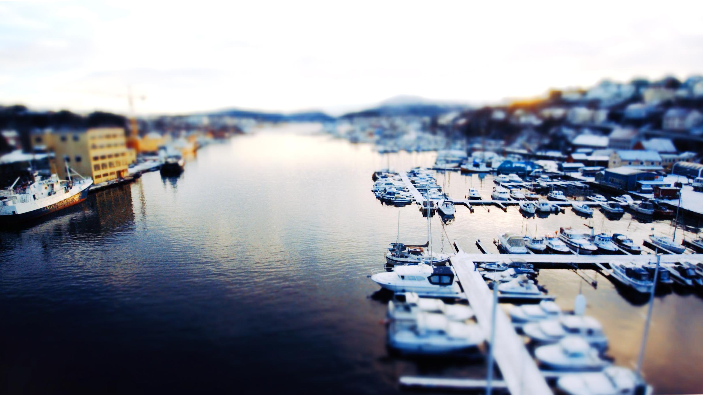 Havne område i Kristiandsund