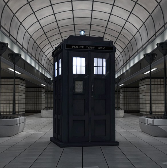 Station With Tardis Highress